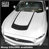 Ford Mustang 2005-2017 Hood Accent U-Stripe Decal