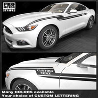 Ford Mustang 2005-2019 Lightning Bolt Side Accent Stripes