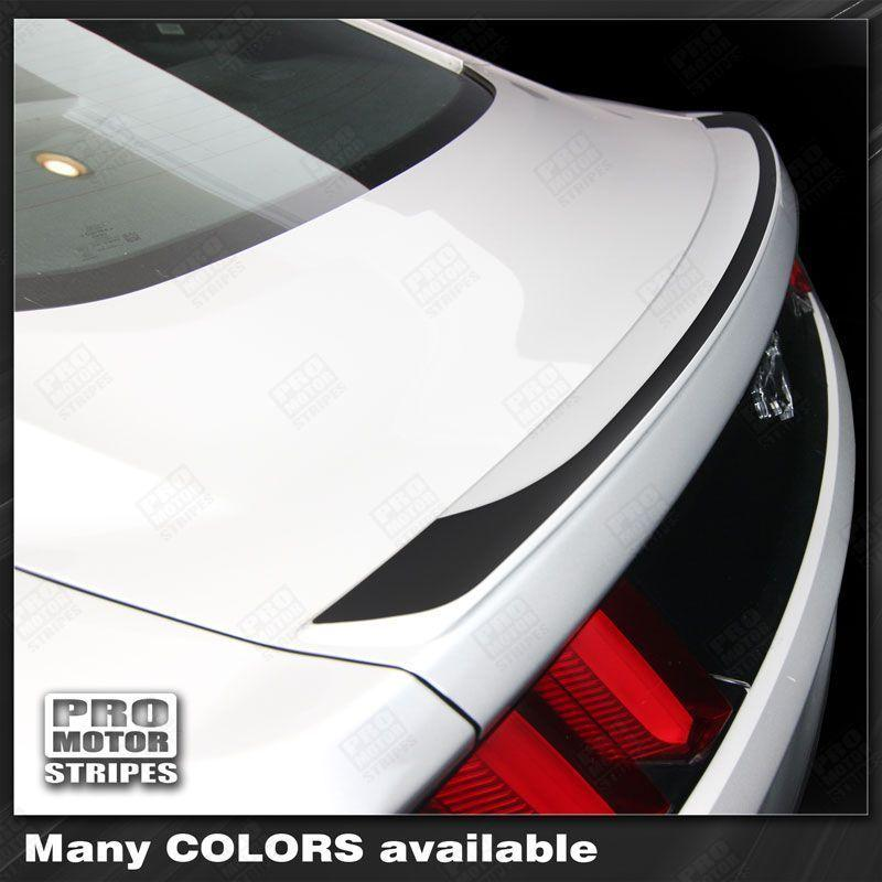Ford Mustang 2015-2017 Lip Spoiler Overlay Accent Decal Stripe Auto Decals - Pro Motor Stripes