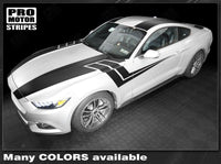 2015 2016 2017 Ford Mustang hood  side  trunk  door  roof Decals Stripes 132366976207-2
