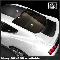 2005 2006 2007 2008 2009 2010 2011 2012 2013 2014 2015 2016 2017 Ford Mustang hood  trunk  roof Decals Stripes 132374364342-2