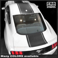 2005 2006 2007 2008 2009 2010 2011 2012 2013 2014 2015 2016 2017 Ford Mustang hood  trunk  roof Decals Stripes 152751463286-2