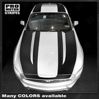 2015 2016 2017 Ford Mustang hood  trunk  roof Decals Stripes 132373238881-1