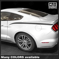 Ford Mustang 2010-2017 Rear Quarter Side Accent Stripes