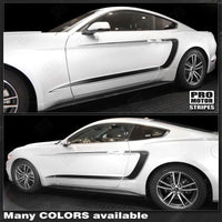Ford Mustang 2015-2019 Side Accent C-Stripes