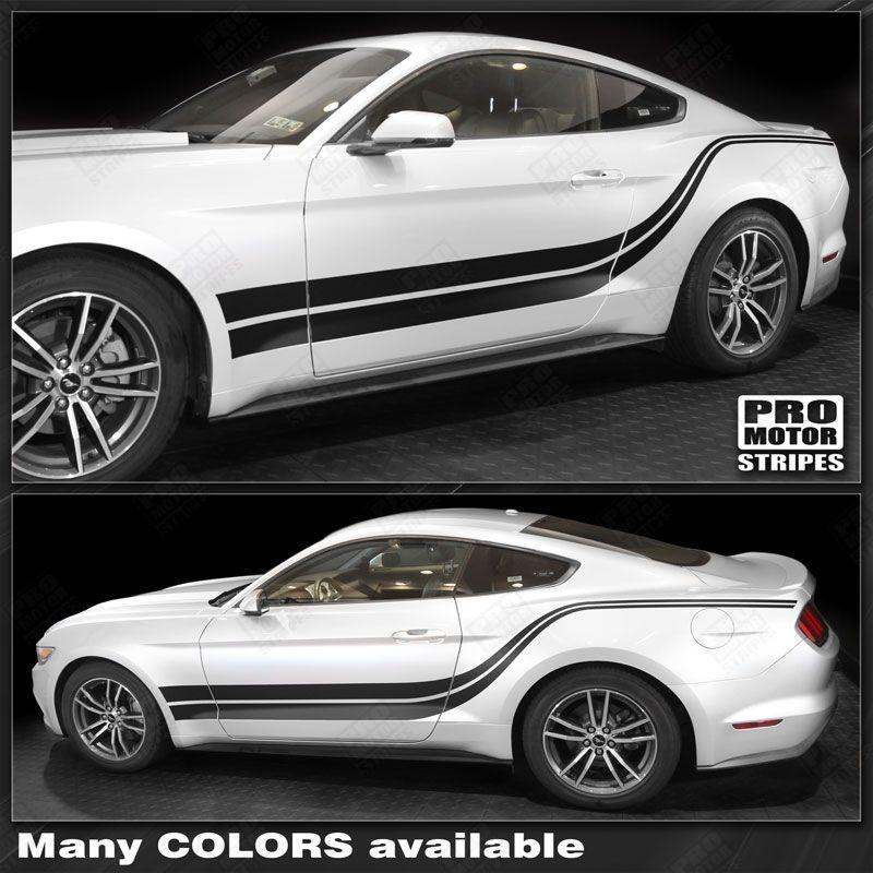 2017 2018 2019 Ford Price: Ford Mustang 2005-2019 Side Accent Double Stripes