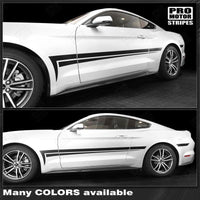 2005 2006 2007 2008 2009 2010 2011 2012 2013 2014 2015 2016 2017 2018 2019 Ford Mustang side  door Decals Stripes 132373234290-1