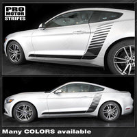 Ford Mustang 2015-2019 Side Hockey Style Strobe Stripes