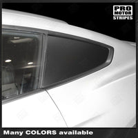 Ford Mustang 2015-2017 Side Rear Window Blackout Accent Decals