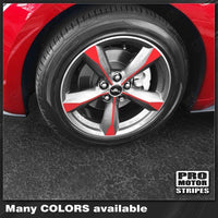 2015 2016 2017 Ford Mustang wheel Decals Stripes 132373233083-1