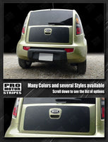 Kia SOUL 2008-2013 Rear Door Accent or Blackout Stripe Decal Auto Decals - Pro Motor Stripes