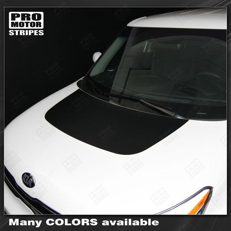 2008 2009 2010 2011 2012 2013 2014 2015 2016 2017 2018 Kia Soul hood Decals Stripes 132229429491-1