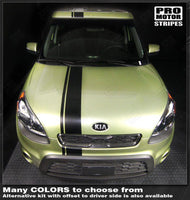 Choose Color For KIA SOUL 2012-2019 Door Handles Accent Stripes Overlay Decals
