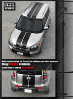 Kia SOUL 2008-2019 Over Top Sport Double Stripes