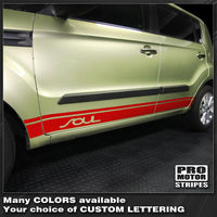Kia SOUL 2008-2019 Rocker Panel Side Sport Stripes