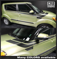 Kia SOUL 2008-2018 Side Accent Sport Double Stripes