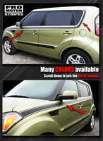 2008 2009 2010 2011 2012 2013 2014 2015 2016 2017 2018 2019 Kia Soul side  door Decals Stripes 152588454828-2
