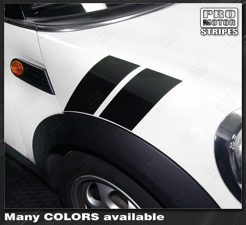 2008 2009 2010 2011 2012 2013 2014 Mini Cooper side Decals Stripes 132229432250-1