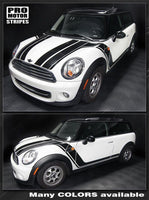 2008 2009 2010 2011 2012 2013 2014 Mini Cooper hood  side  door  rocker panel Decals Stripes 122551585432-1