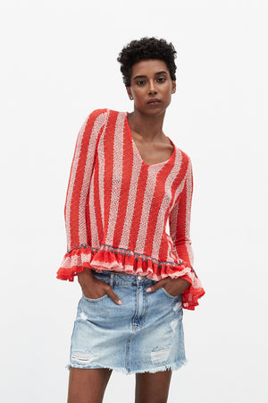 Coast Sweater | Coral