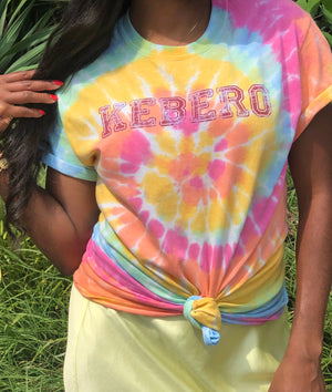 (S)hero Global Manifest Tie Dye Tee