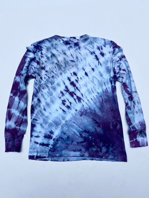 Ice Storm Long Sleeve UNISEX TEE One of a Kind Dyes