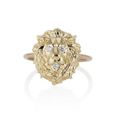 COURAGE LION RING