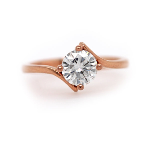 WHITNEY RING CURVED SOLITAIRE