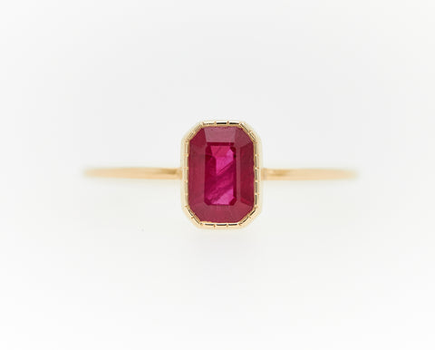 RUBY WISP RING