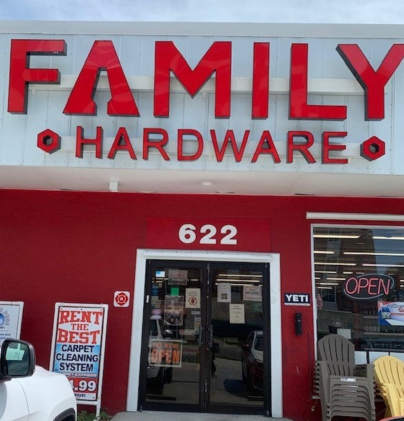 "The Spirit of America is Alive and Well at ""Family Hardware"""