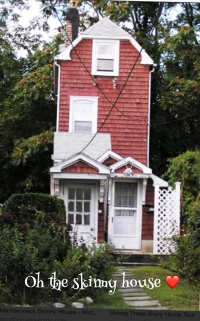 "A welcome return to the red "" Skinny House"" A childhood memory"