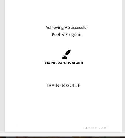 Loving Words Again Trainer Guide- digital version