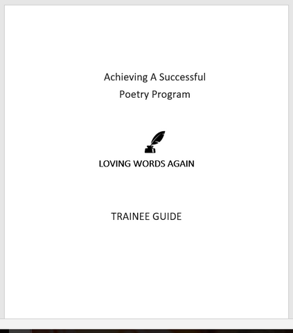 Loving Words Again Add-On Trainee Guide- digital version