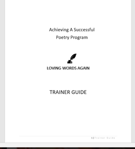 Loving Words Again Trainer Guide- printed version