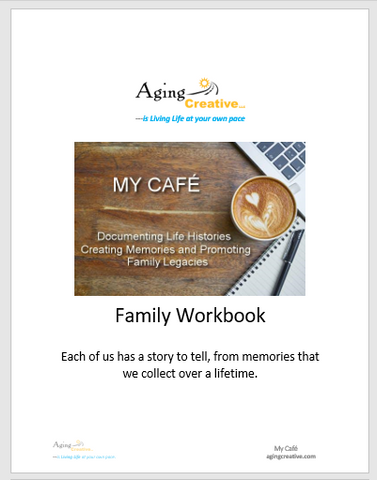 MY CAFÉ, WORKBOOK- printed version