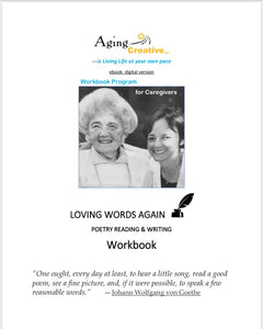 Loving Words Again Poetry Workbook- digital version