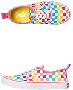 Kids Vans LACE Rainbow Checkerboard Sneakers