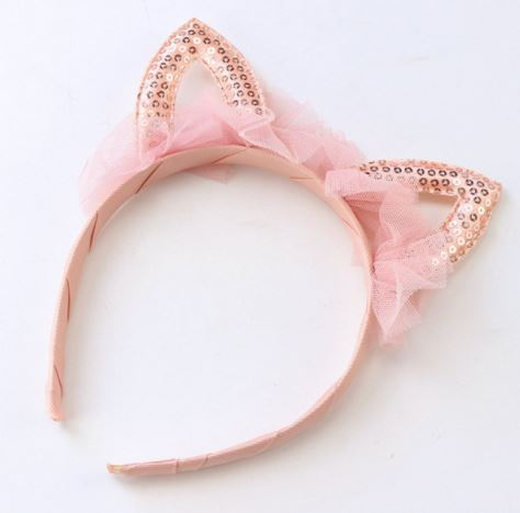 Cat Ears Tutu Headband
