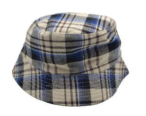 Kids Plaid Bucket Hat
