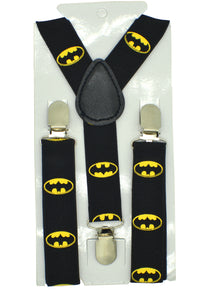 Kids Batman Logo Suspenders