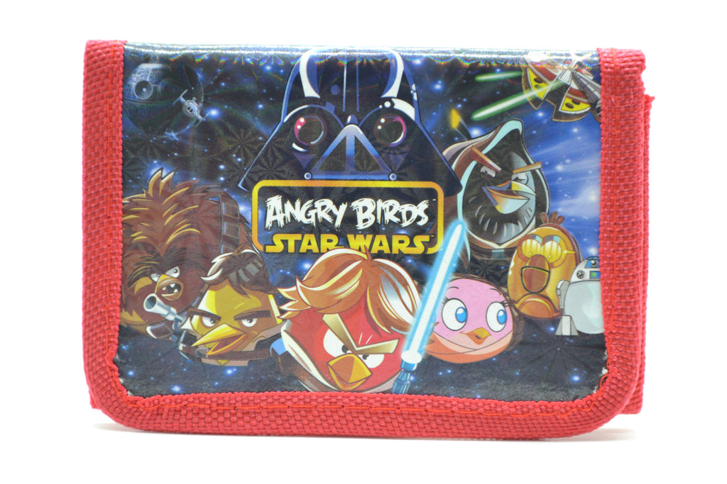 "Children's Character ""ANGRY BIRDS/STAR WARS"" Wallet"