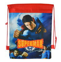 Superman Drawstring Backpack
