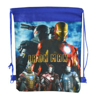 Iron Man Drawstring Backpack