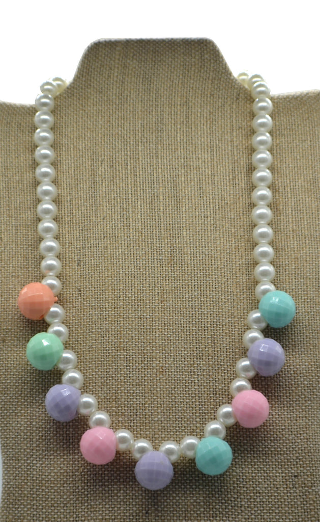 Pearl Disco Ball Necklace