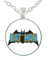 Batman Logo Dog Tag Necklace