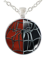 Spiderman Dog Tag Necklace