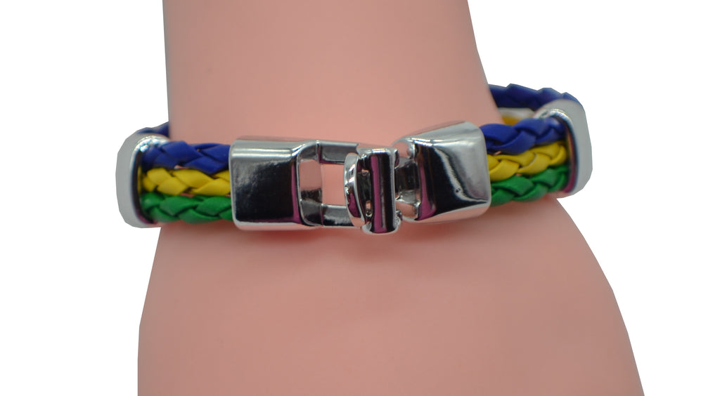 Boys 3 Ring Rope Bracelet