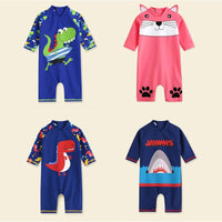 Kids One Swim Piece Body Suit