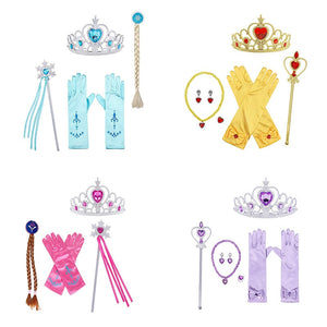 Princess Tiara & Gloves Dress-up Set