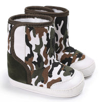 Baby Camouflage Anti-slip Boots